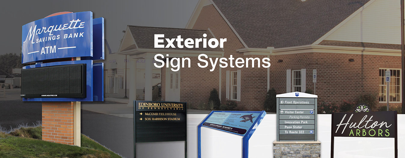 Exterior Sign Systems