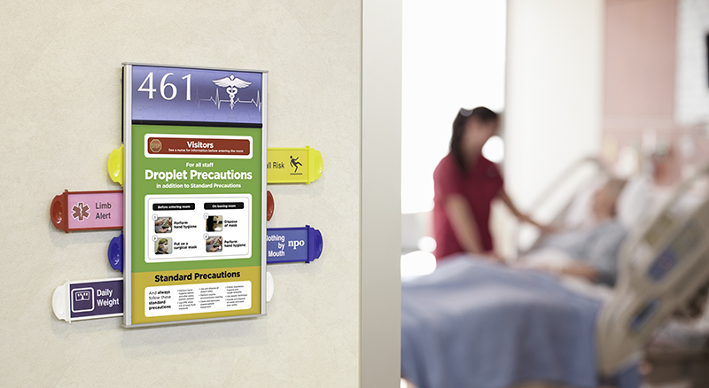 Interior Patient Focused Signage Prime Sign Program