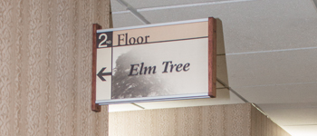 interior wayfinding signs